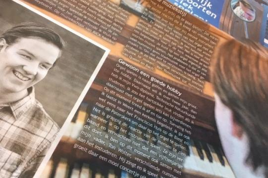 Interview Lin Wolter (VWO-4) in Weert Magazine